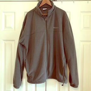 Men's Columbia Zip Up Fleece Sweater